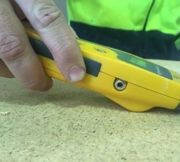 Concrete Moisture Meter Testing