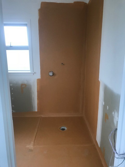 Shower Waterproofed by Tiler Before Wet-seal Waterproofing Done