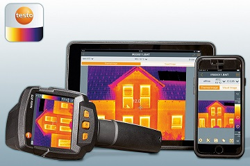 Testo 872 Thermal Imaging Camera distributed by Wet-seal